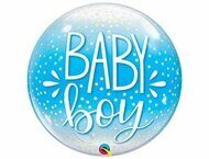 "П BUBBLE 22"" Baby Boy конфетти"