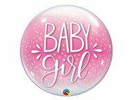 "П BUBBLE 22"" Baby Girl конфетти"
